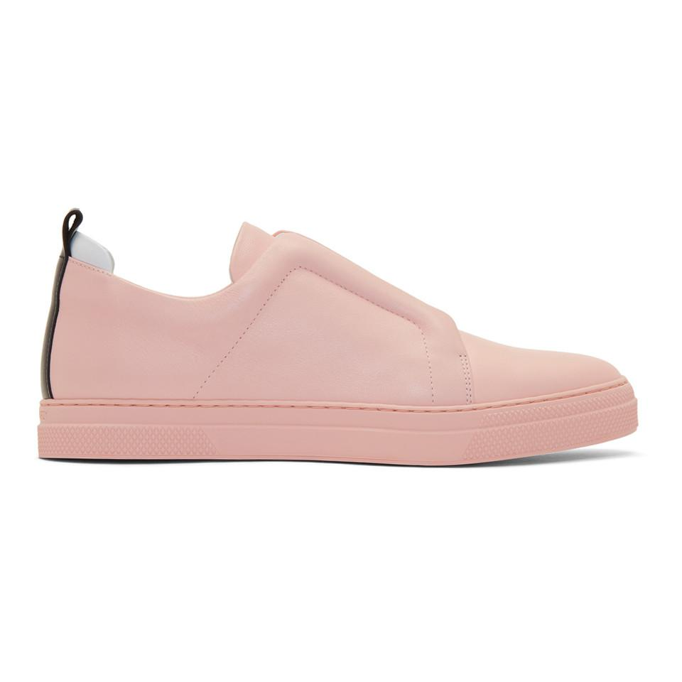 Pink Slider Slip-On Sneakers Pierre Hardy C6iGik