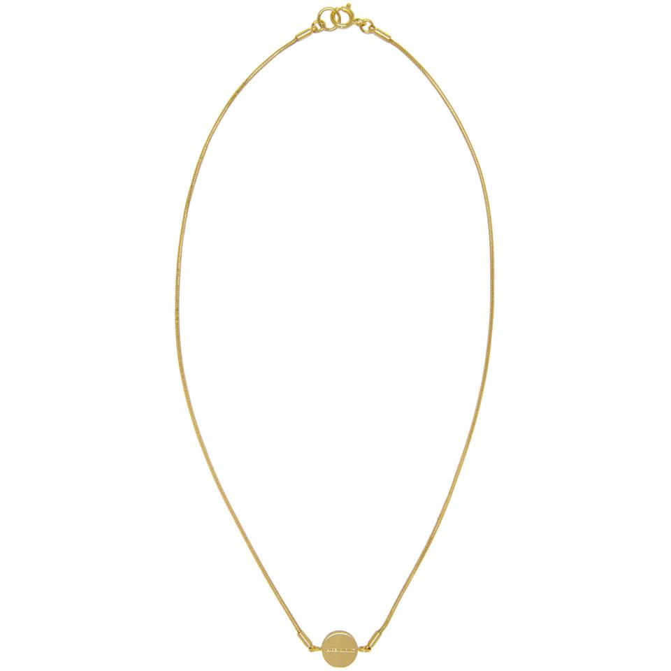 pendant necklace - Metallic Isabel Marant