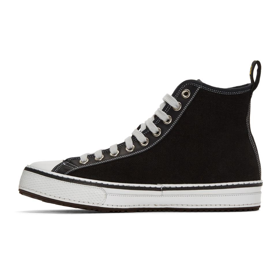 Black Canvas High-Top Sneakers R13 Discount Really Explore For Sale Free Shipping New Cheap Sale Looking For cj7X6J