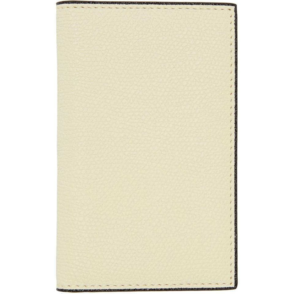 Lyst - Valextra Off-white Business Card Holder for Men