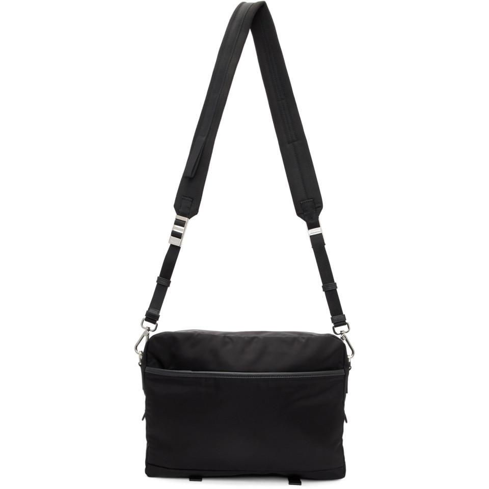6b6b71356b0f ... good lyst prada black mountain messenger bag in black for men 1d09c  2c80c