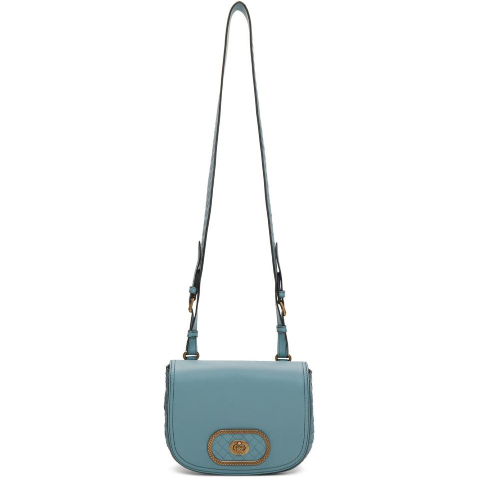 1ab34c7c5683 Bottega Veneta Blue Bv Luna Bag in Blue - Lyst