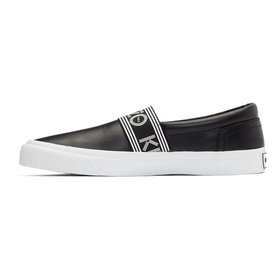 Kenzo Leather Kapri Slip-On Sneakers FpQi2w