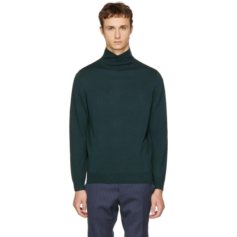 Green Dundee Turtleneck A.P.C. Quality Free Shipping For Sale Clearance Low Shipping For Sale pQjdU