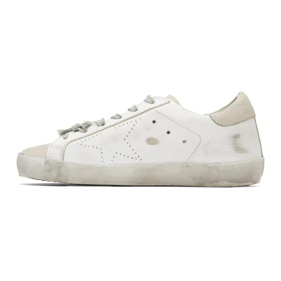 Golden Goose & Grey Scribble Skate Superstar Sneakers cY2gPvN