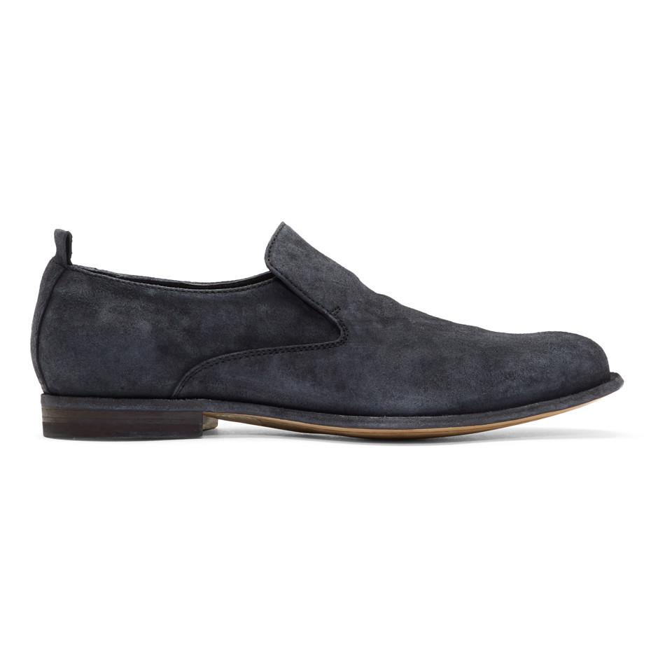 Officine creative Suede Mono 7 Loafers
