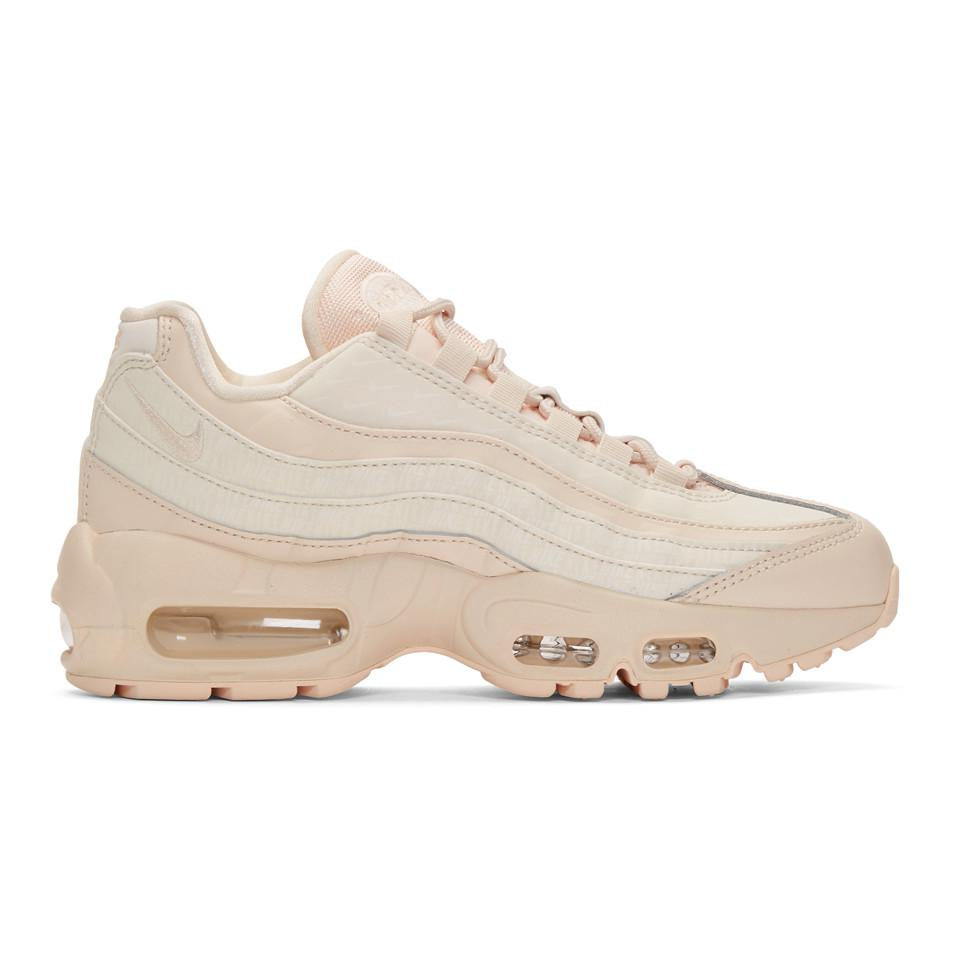 d74a16724f Lyst - Nike Air Max 95 Lx Sneakers in Pink
