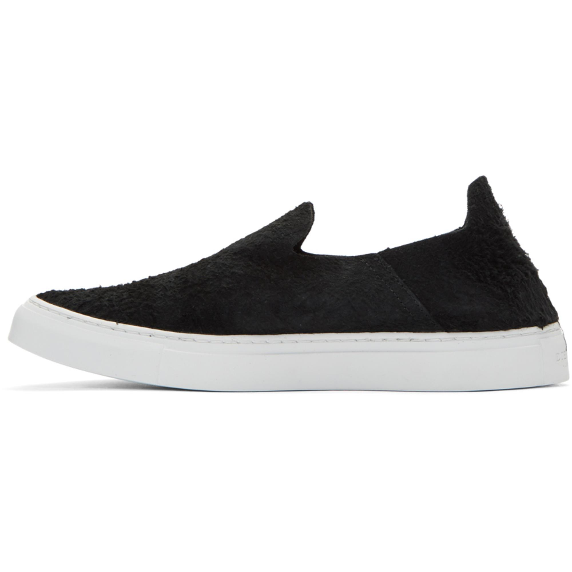Diemme Black Suede One Slip-On Sneakers 2LXyIemN