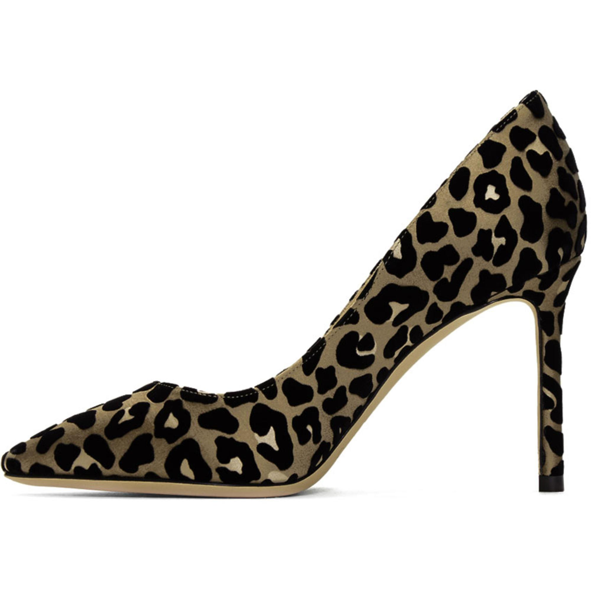 Jimmy choo Tan & Flocked Leopard Romy 85 Heels Sale Inexpensive Browse Cheap Price Discount Best Place Cheap Sale 100% Original Cheap Sale Outlet Locations Z2Mlk40UC2