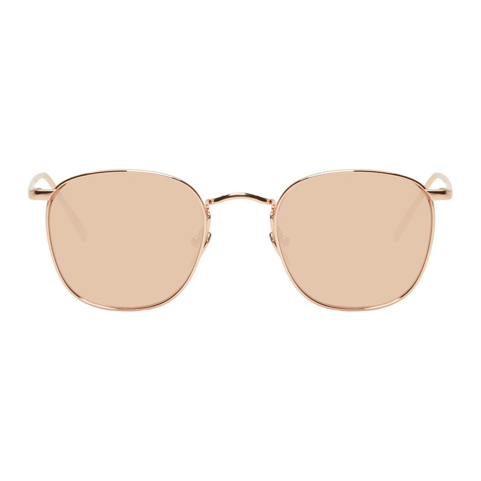 Linda Farrow Gold 479 C3 Sunglasses