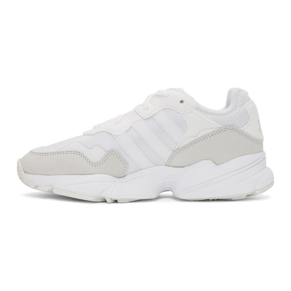 Adidas Originals - White Yung 96 Sneakers for Men - Lyst. View fullscreen 1b6f2a6ab