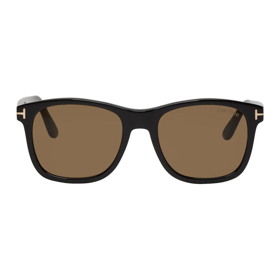 133cdae4c7b Tom Ford Black Eric Sunglasses in Black for Men - Save 37% - Lyst