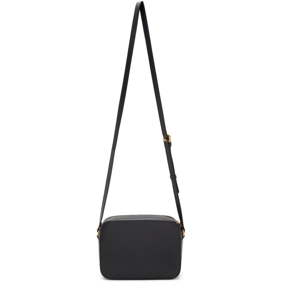 Versace Black Tribute Tonal Medusa Camera Bag in Black - Lyst 346603f158654
