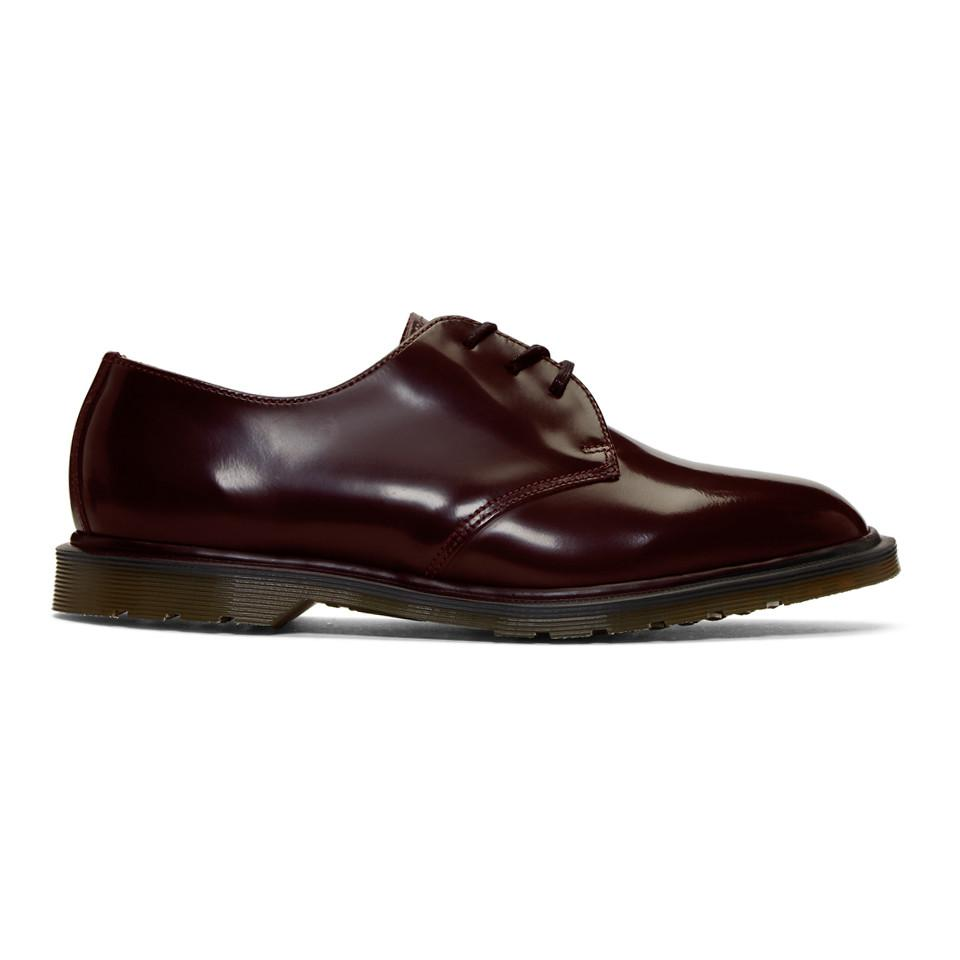 Brioni Burgundy 1461 Classic 'Made in England' Derbys Jir76BYb