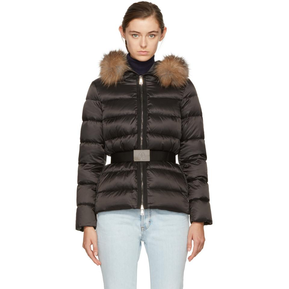 Moncler. Women's Black Tatie Down Jacket ...