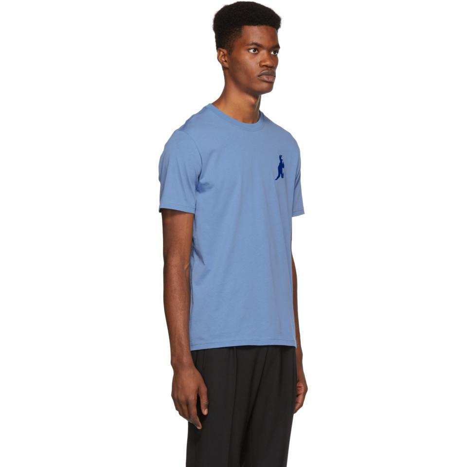 ded180bca PS by Paul Smith Blue Small Dino T-shirt in Blue for Men - Lyst