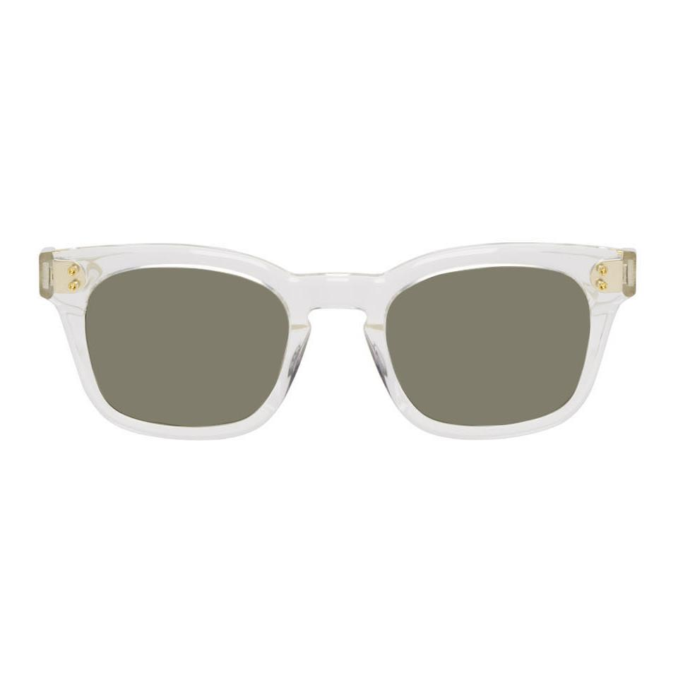 9b0398bd9782 Lyst - DITA Grey Transparent Mann Sunglasses in Gray for Men