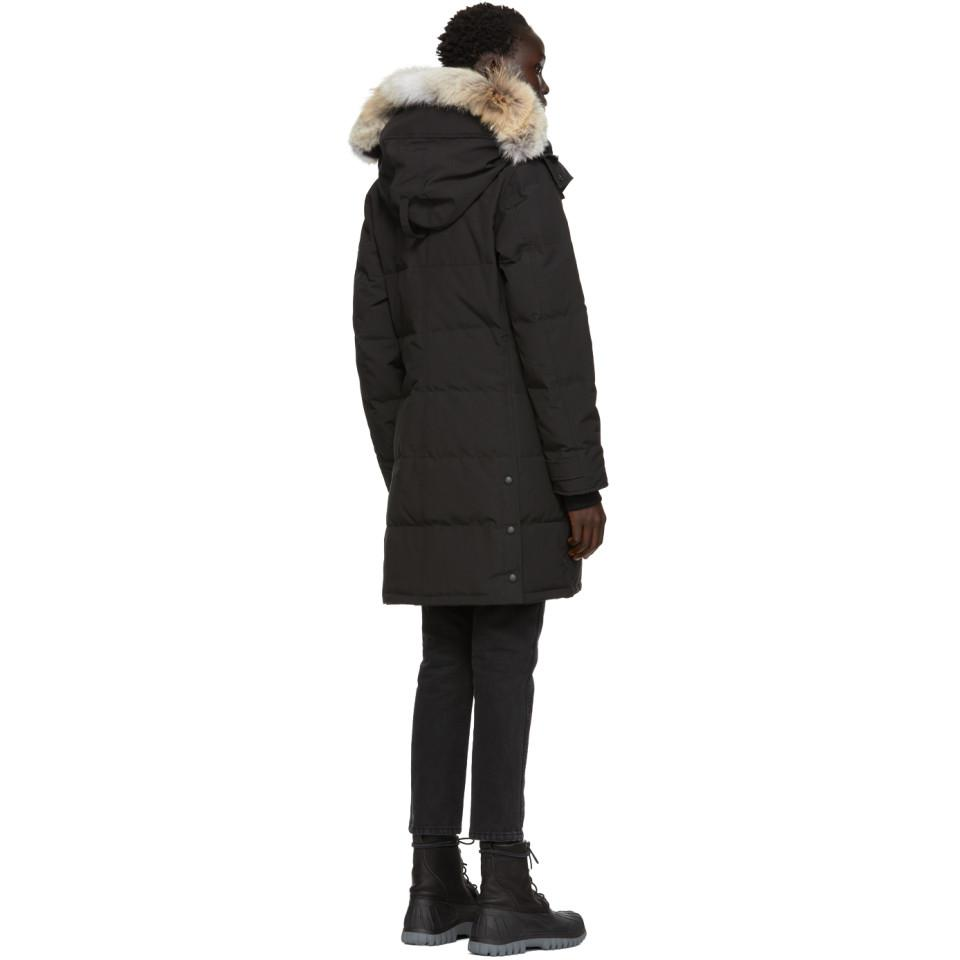 093ac200dcaf Canada Goose - Black Black Label Down Shelburne Parka - Lyst. View  fullscreen
