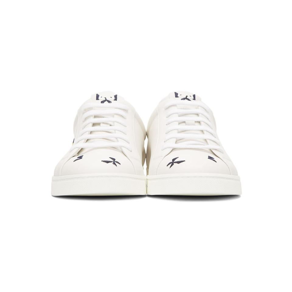 Fendi Off- Butterfleyes Sneakers Affordable Cheap Sale Clearance Store 6iN6Lsg