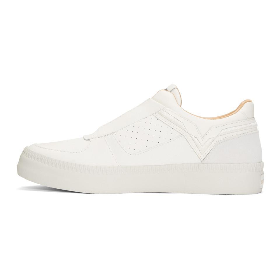 Vans White S-Spaark Slip-On Sneakers ESOwo6Mjn