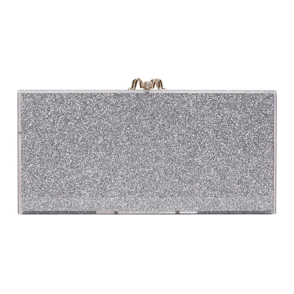 Silver Rainbow Glitter Perspex Penelope Clutch Charlotte Olympia cZzQw3fo
