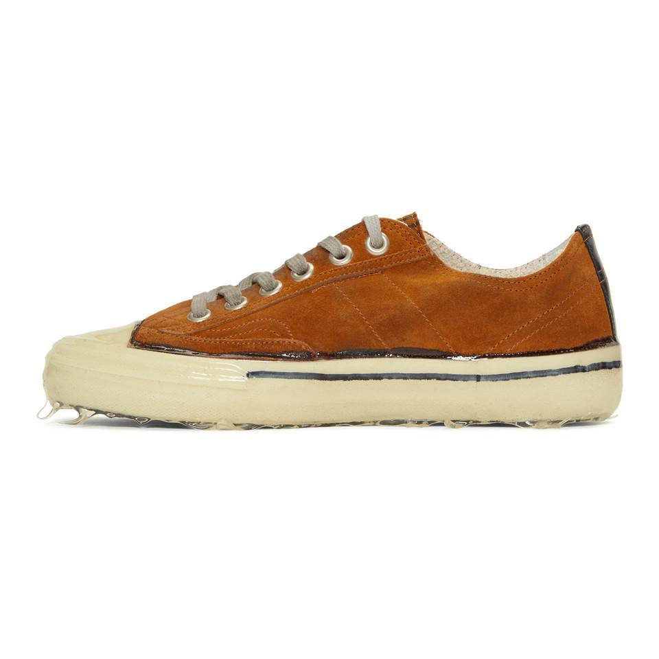 Orange Suede V-Star Dip Sneakers Golden Goose e15qE7IjtK