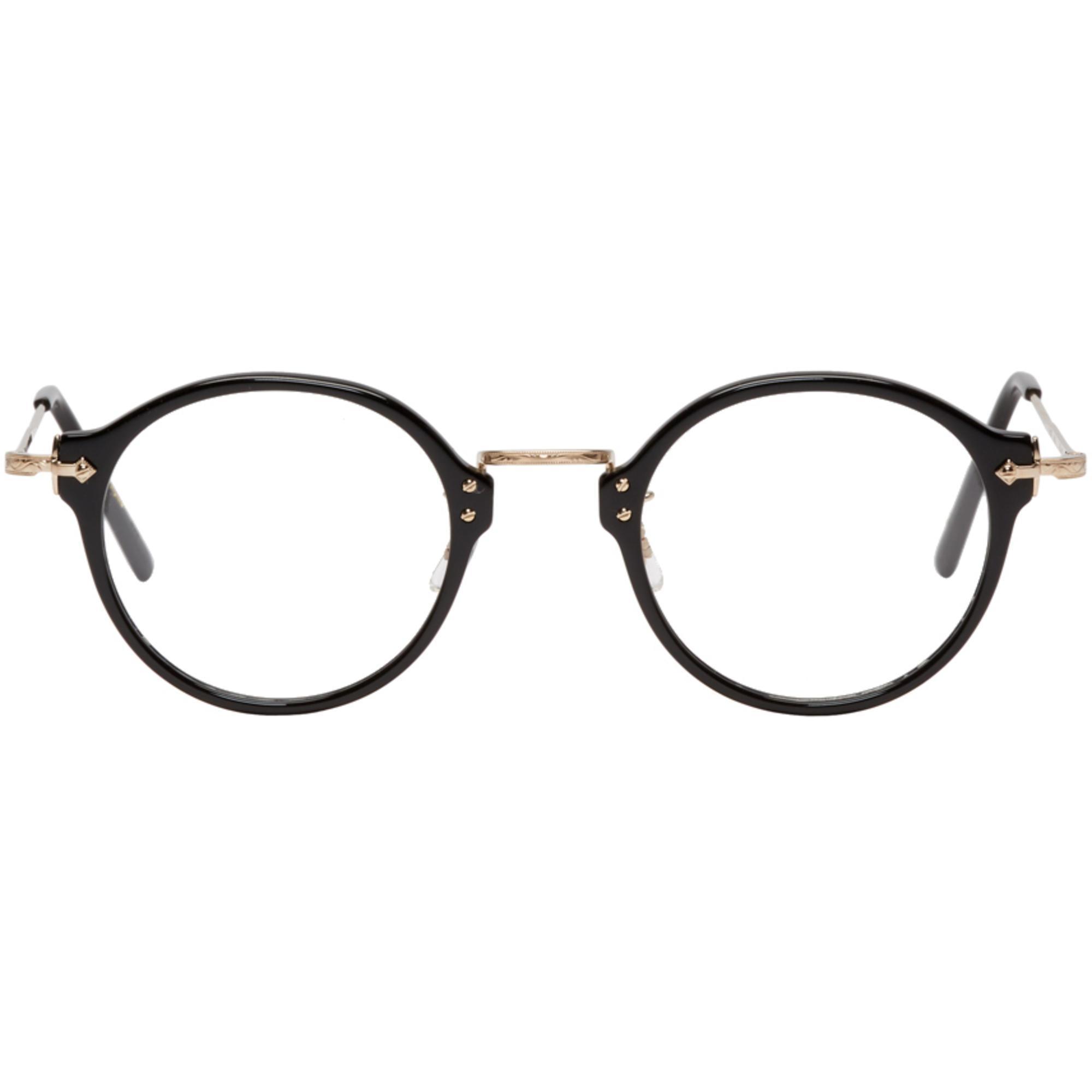 3415f27f1b Eyevan 7285 Black Model E507 Glasses in Black for Men - Lyst