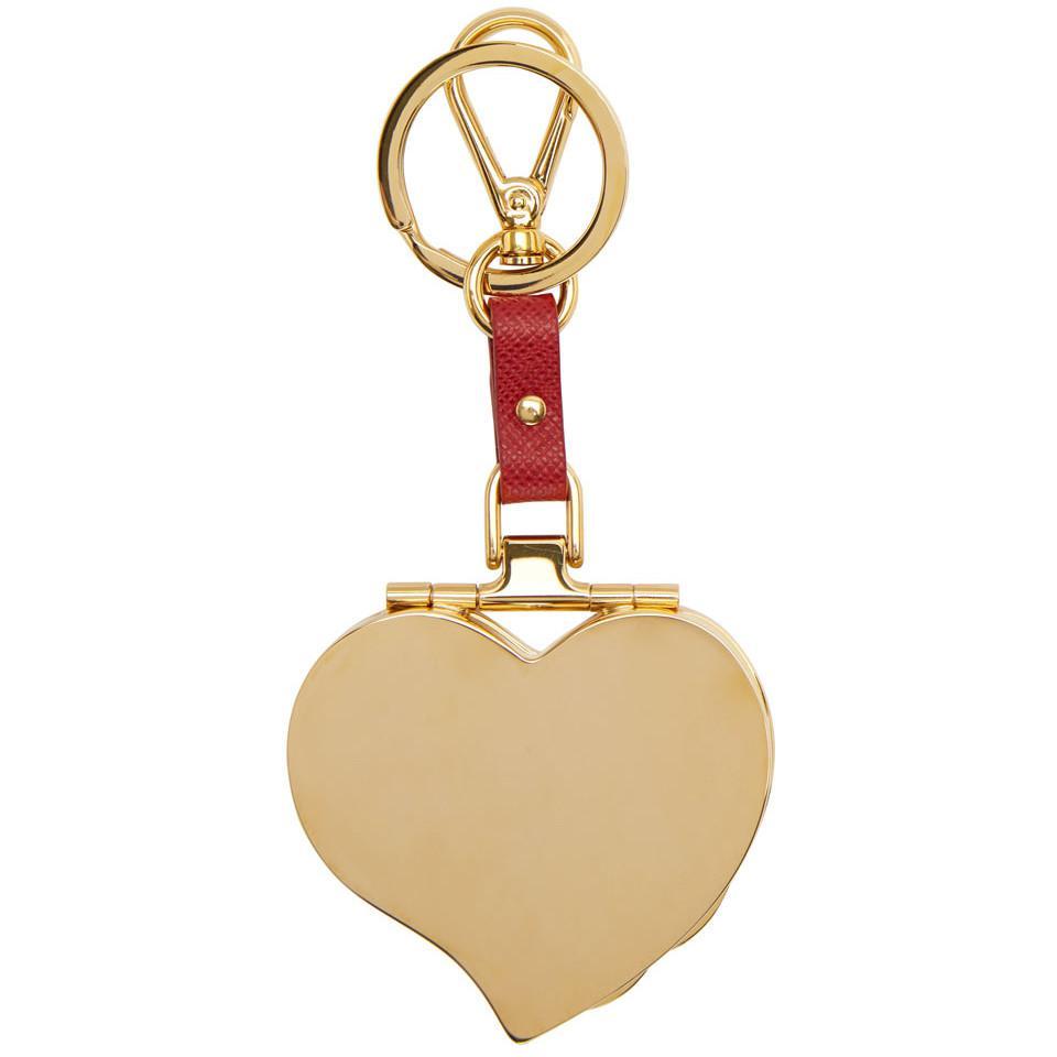 Boîte Coeur Porte-clé Prada YJWu66HYEq