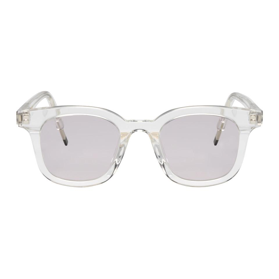 158d17e14d1ab Gentle Monster Transparent Dal Lake Sunglasses for Men - Lyst