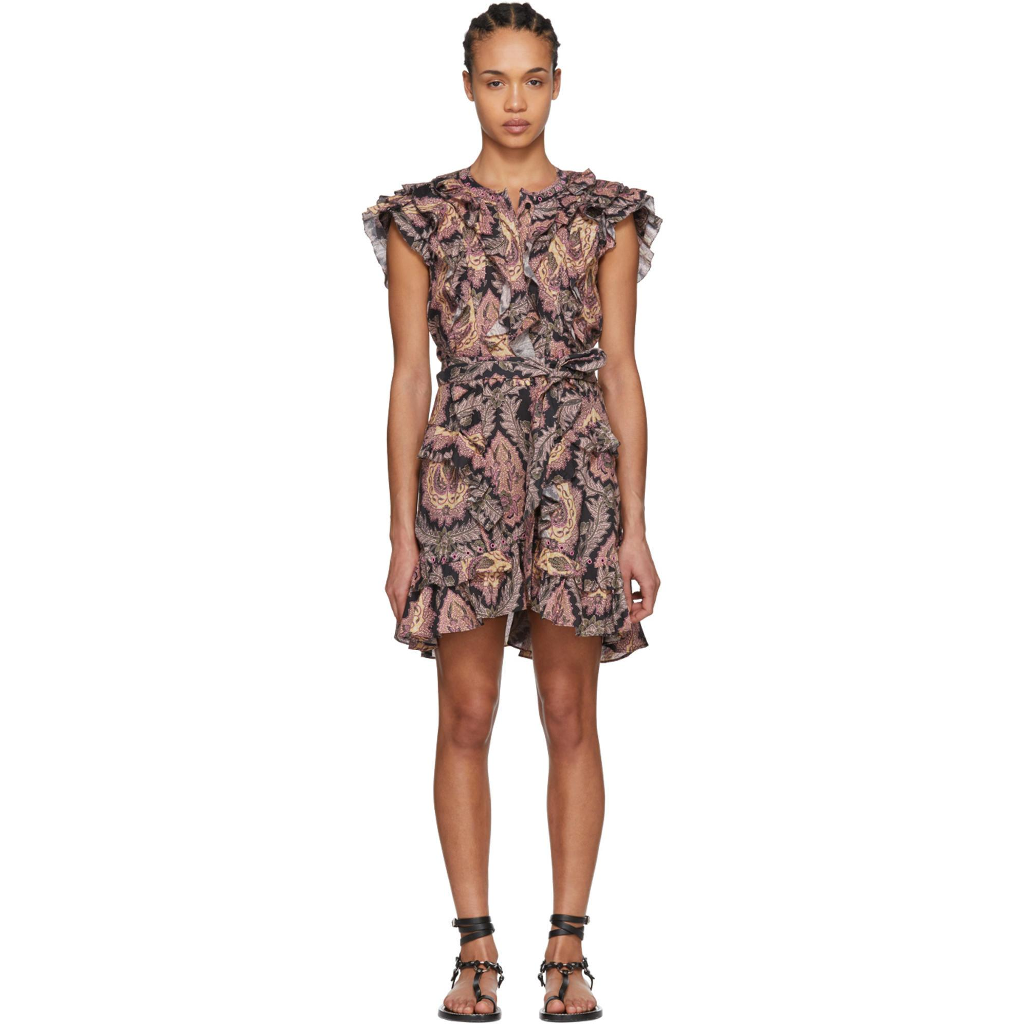 Xanity dress - Multicolour Isabel Marant Shop Offer Sale Online How Much Online nK03OKb3