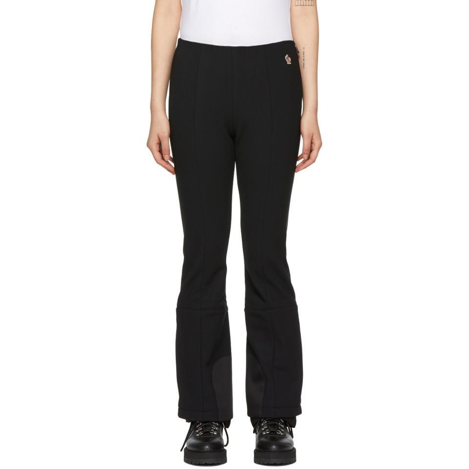 Moncler Grenoble Black Performance Ski Lounge Pants in Black - Lyst f9d1a4060