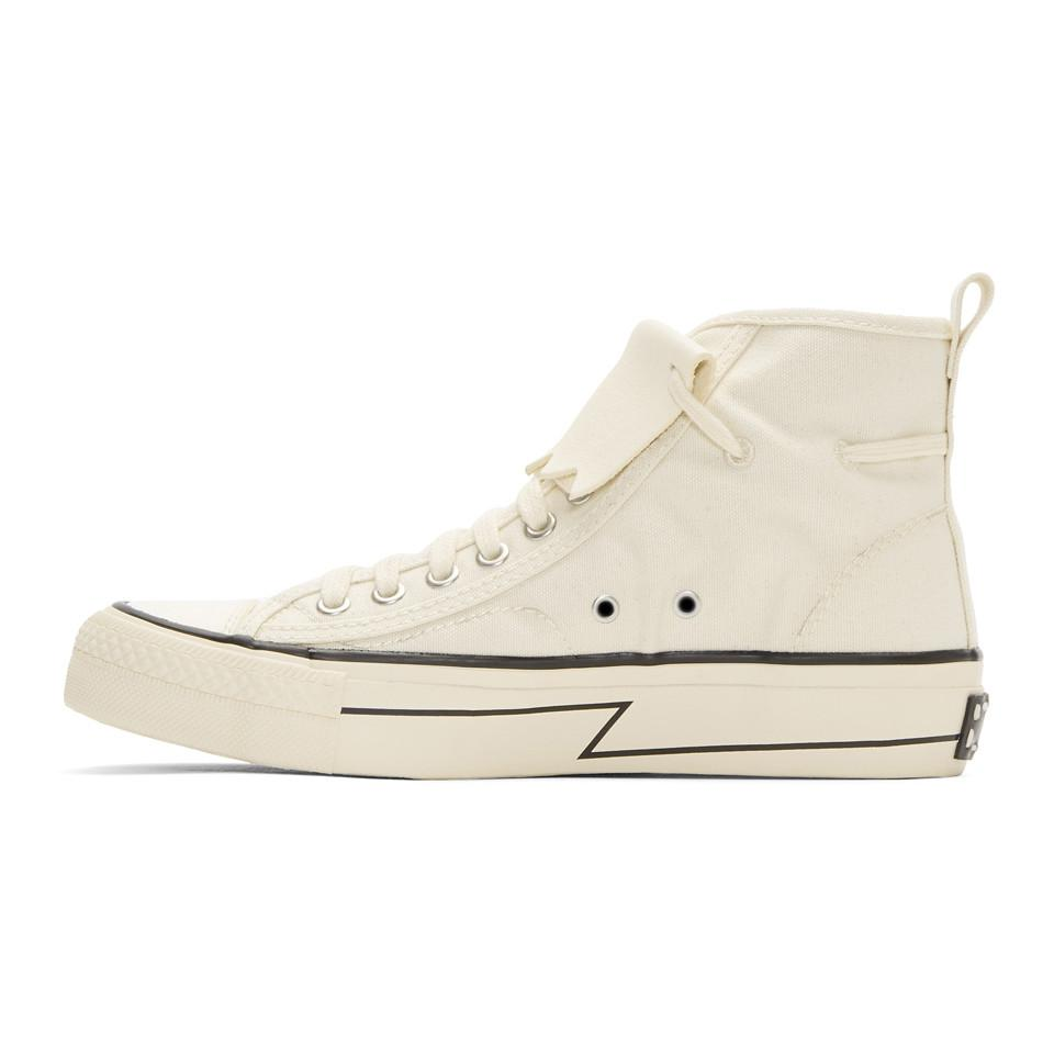 Visvim Ivory Keifer High-Top Sneakers outlet shop buy for sale QqXnYvYD3