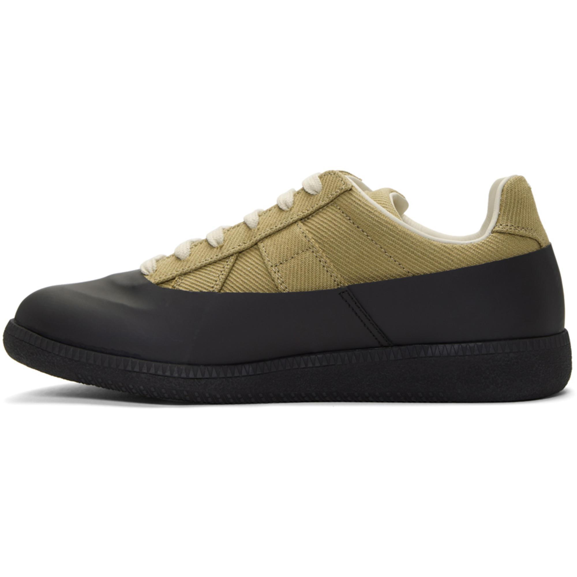 Black Galosh Replica Sneakers Maison Martin Margiela SOwOMUYtM