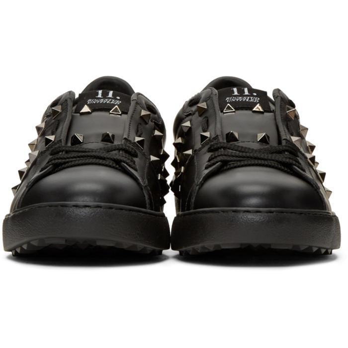 5f239b8b1 Valentino Black 'rockstud Untitled' Noir Sneakers in Black for Men ...