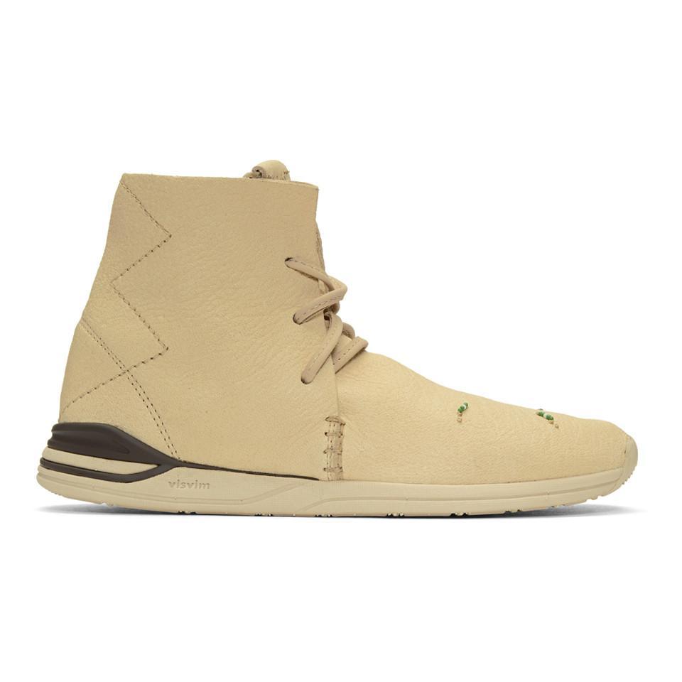VISVIM Huron Moc High-Top Sneakers nUkmqw70C