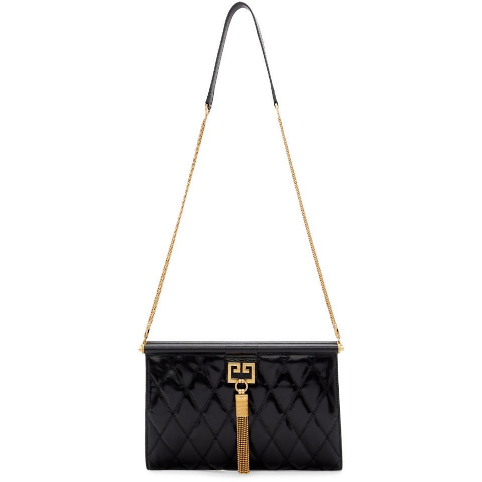 Lyst - Givenchy Black Medium Gem Bag in Black 9fbca81da0