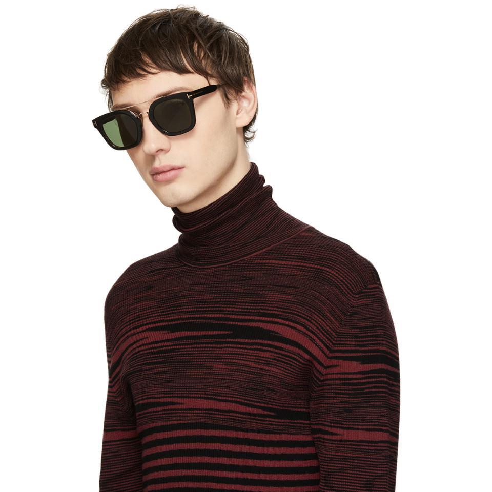 0d7bd0f4e9a Tom Ford - Black Alex Sunglasses for Men - Lyst. View fullscreen