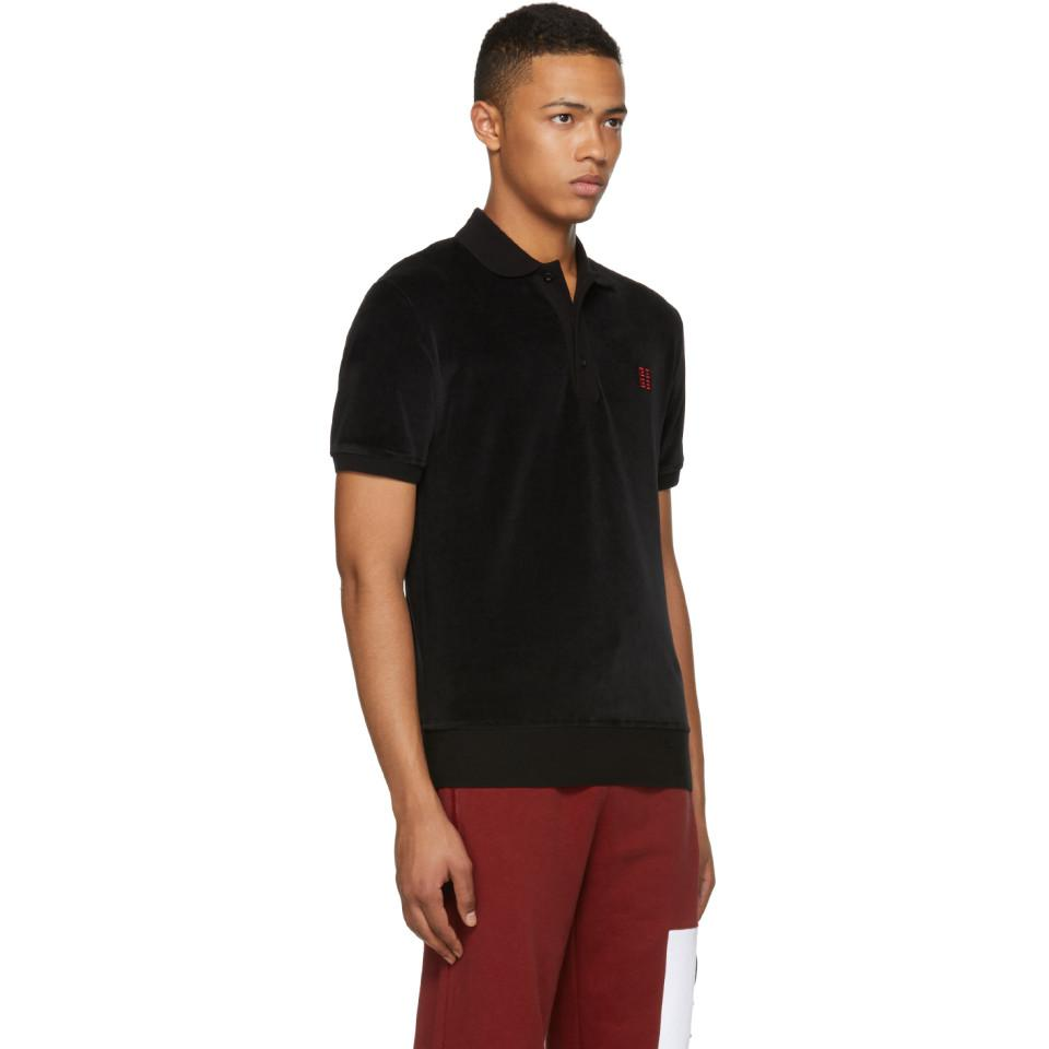 Clearance New Black Velvet 4G Polo Givenchy Discount Shop DbFtR9