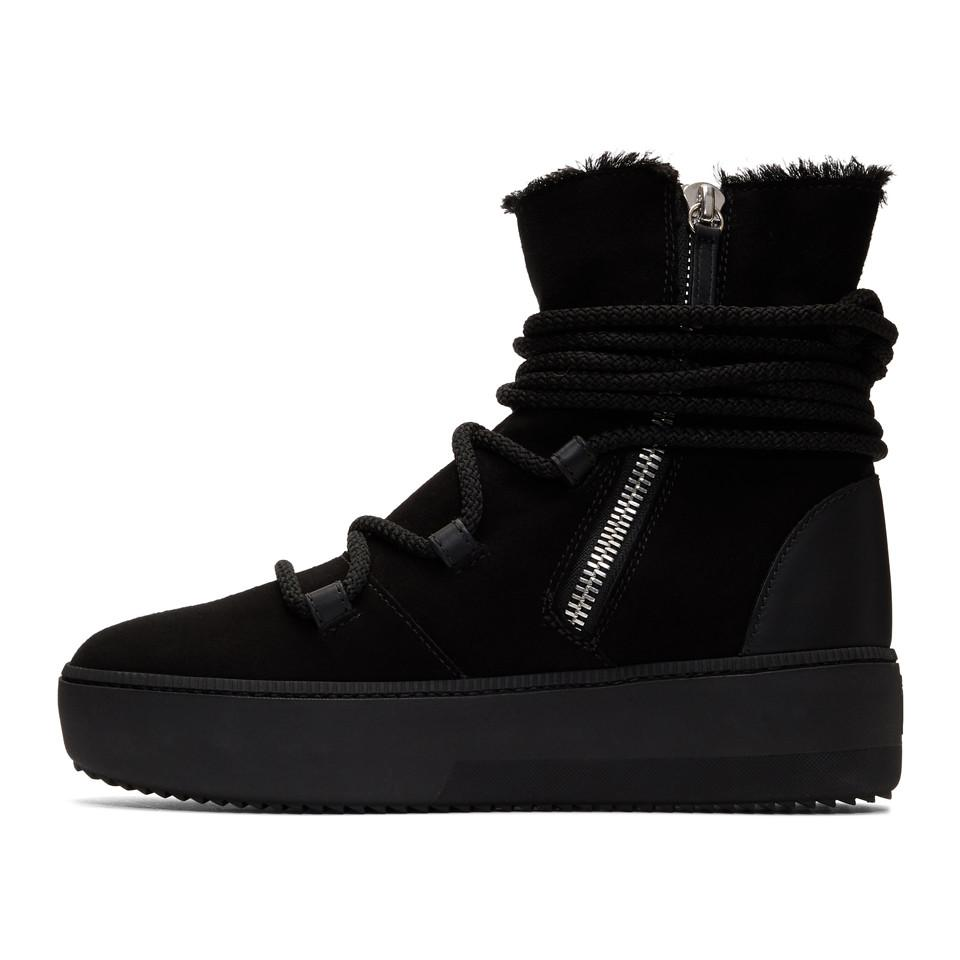 b23a7f1c5dead Giuseppe Zanotti Black Allen High-top Sneakers in Black for Men - Lyst