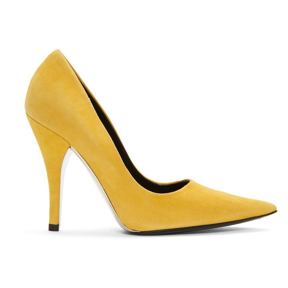 Calvin Klein Suede Rosaine Heels 20C49Vw0JF