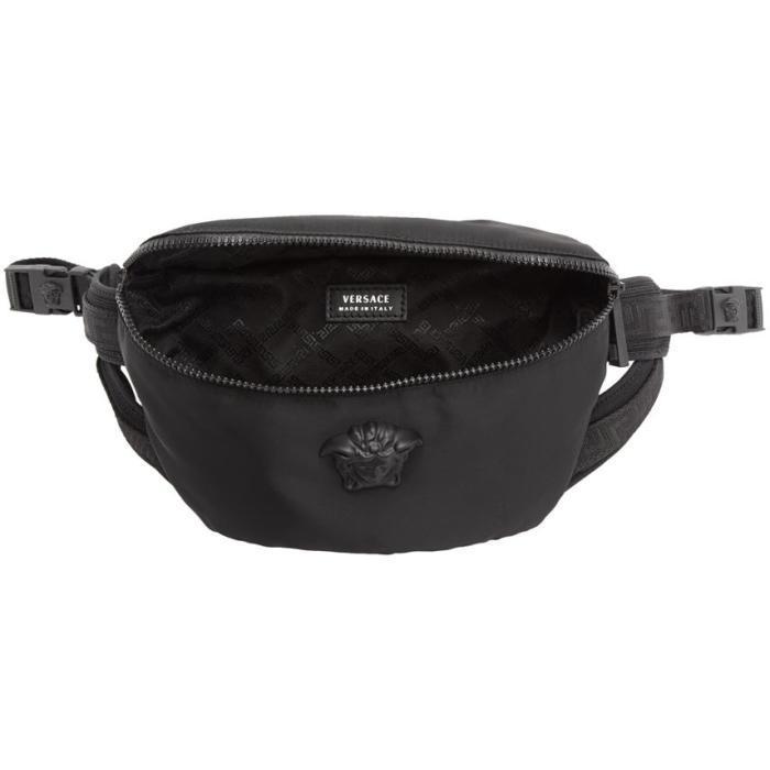 Lyst - Versace Black Nylon Medusa Waist Bag in Black for Men 95198c6dbb299