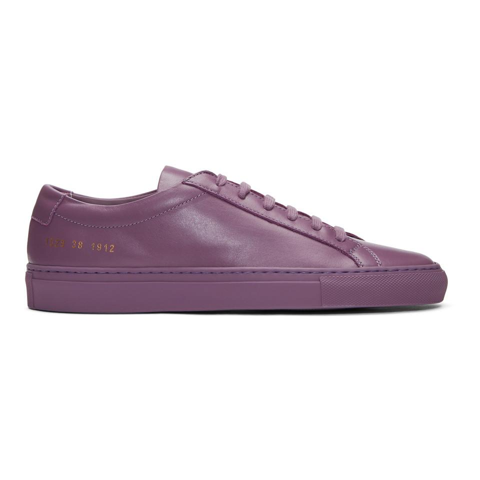 new style 38413 f18a4 common-projects-violet-Purple-Original-Achilles-Low-Sneakers.jpeg
