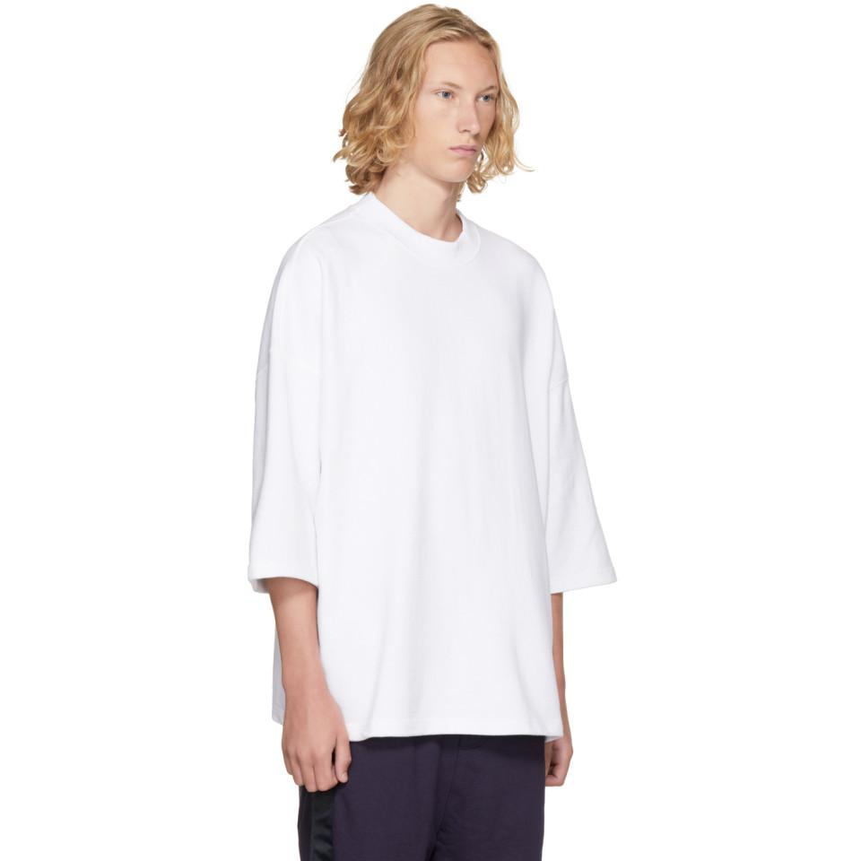 Clearance Pre Order Deals Cheap Price SSENSE Exclusive White Oversized T-Shirt D by D With Mastercard Cheap Online WBJv4VTx