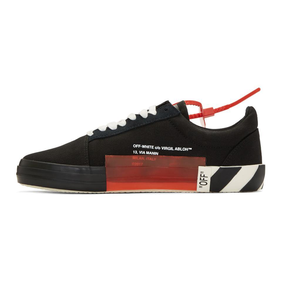 Lyst Black co Abloh Black Vulc Off for White Sneakers in Virgil Men bfgy76YIv