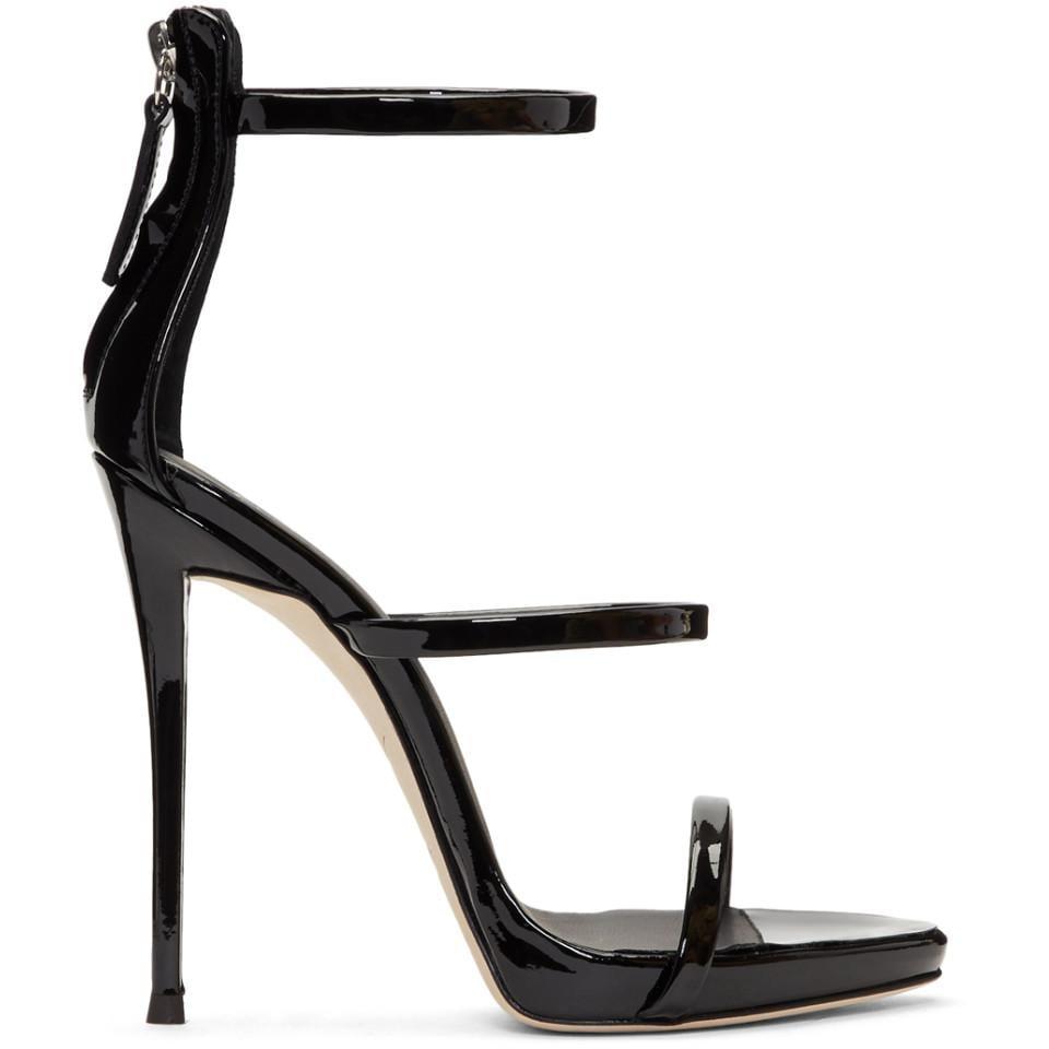 Giuseppe Zanotti Coline Leather Ankle-Strap Sandals MFMIWbZI