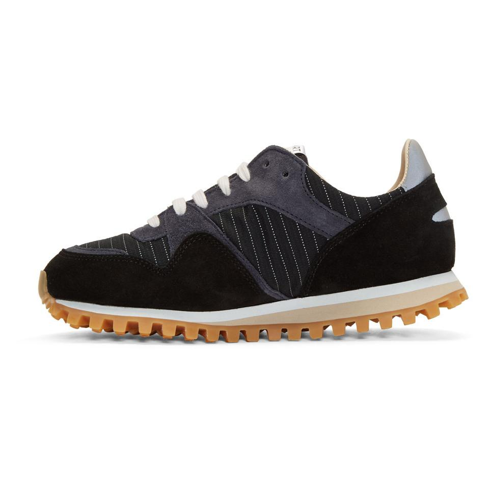 Very Cheap For Sale Spalwart Navy Marathon Trail Pinstripe Sneakers Best Place Cheap Online Sale Cheapest Price Very Cheap FElAc