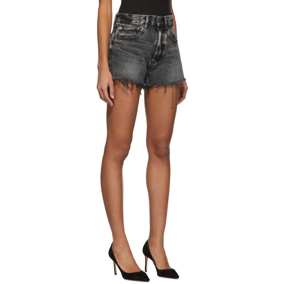 Denim Black Lyst Moussy In Shorts Hamilton If6vYyb7g