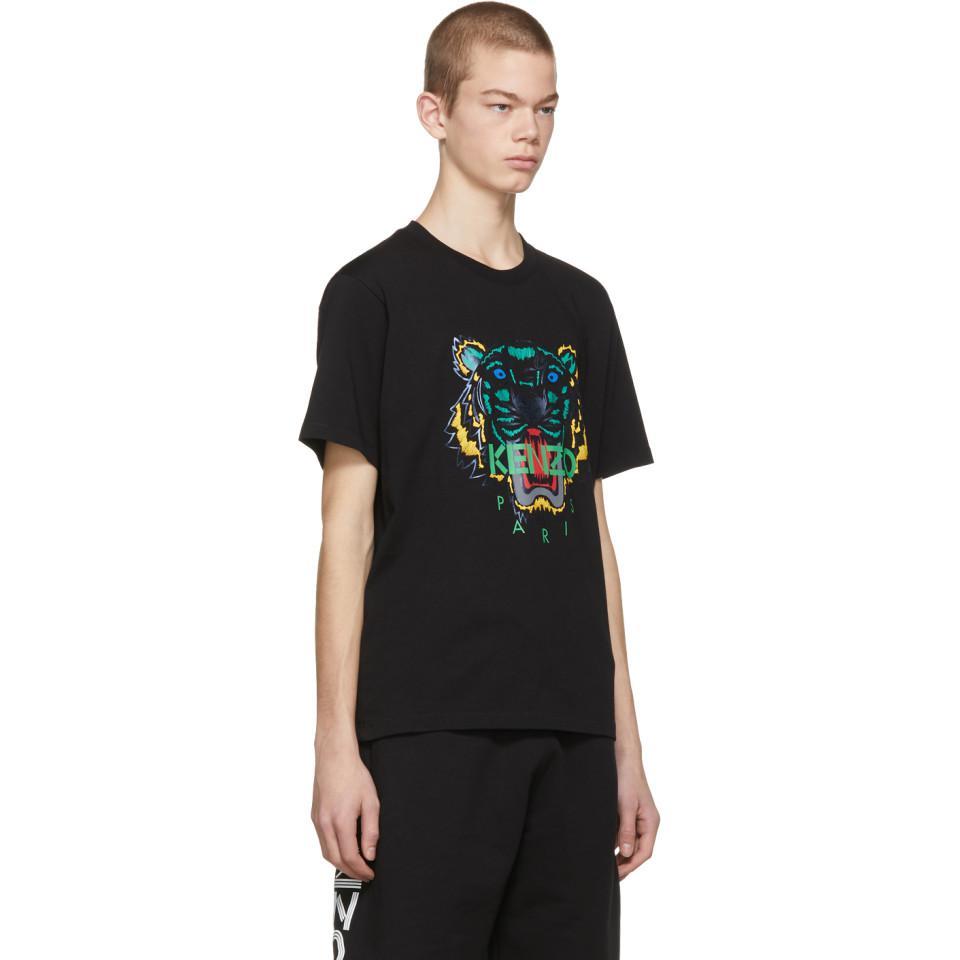 8391de6c0 T-shirt noir Holiday edition limitee KENZO pour homme en coloris ...
