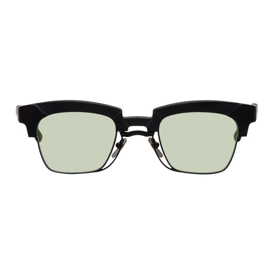 f7faec6fee Lyst - Kuboraum Black N6 Bm Sunglasses in Black for Men