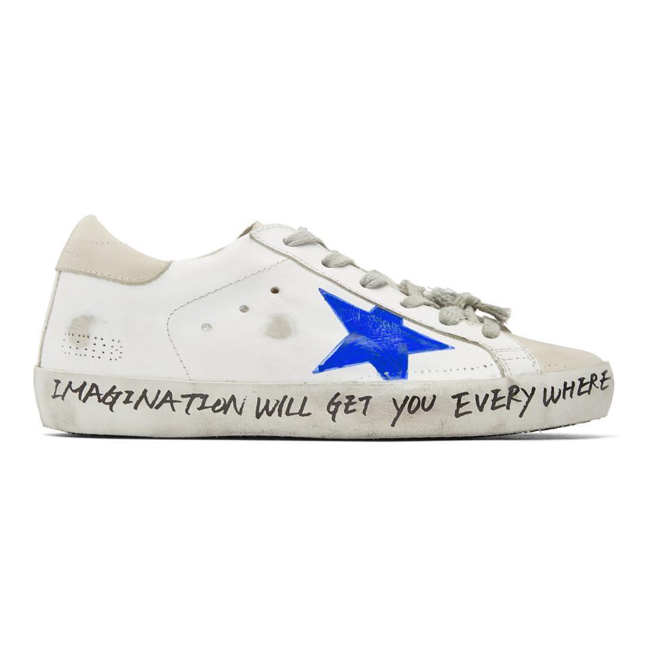Golden Goose& Grey Scribble Skate Superstar Sneakers IAyGMAX6